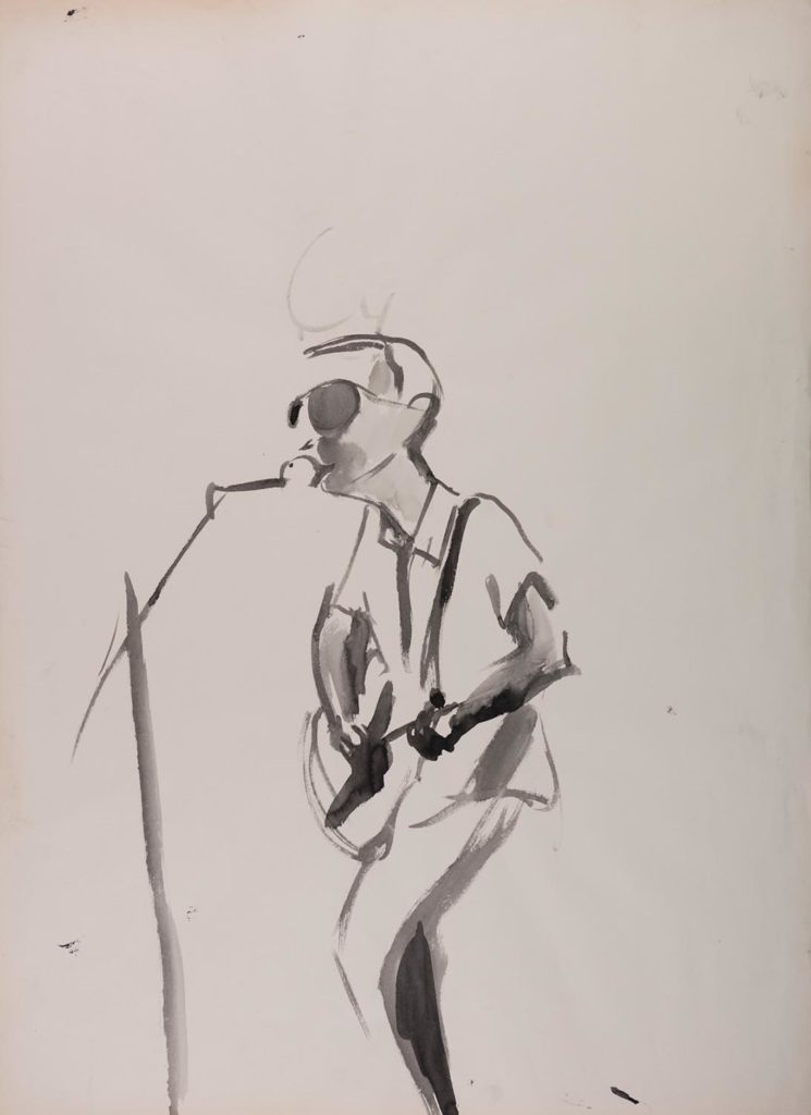 Richard Ashcroft_2017_watercolor on paper_88x64cm