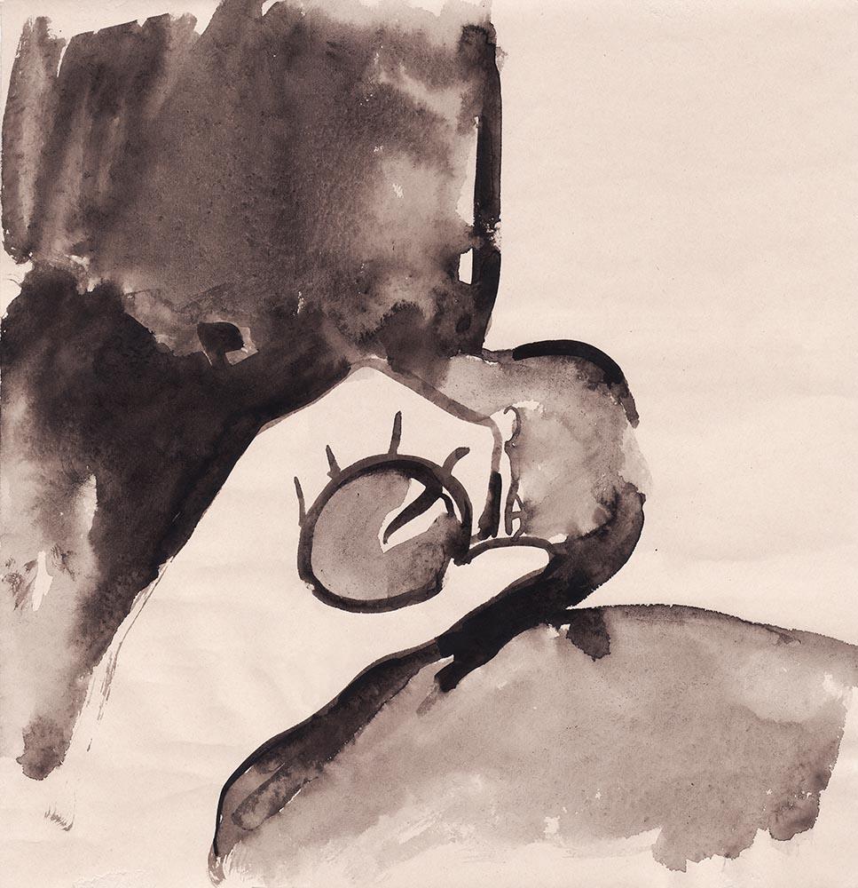 Ego-2019-acquerello su carta-29x28